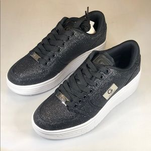 [228] G By Guess 5.5 M Lace Up Fashion Sneakers